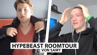 Justin reagiert auf Hypebeast Roomtour von Samy.. | Reaktion