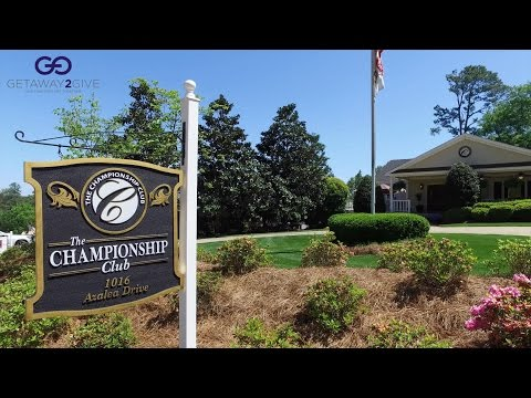 The 2017 Masters Experience - G2G at The Championship Club Augusta, GA