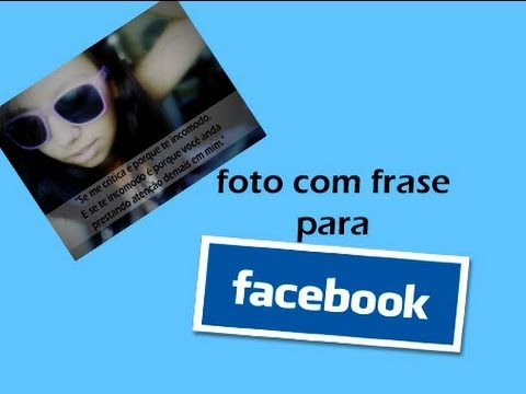 Photoshop Cs6 Foto Com Frase Para Facebook