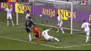 Hollandia - Magyarország 6-1 :::ÖSSZEFOGLALÓ