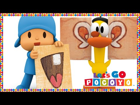 Let's Go Pocoyo! - Face Painting [Episode 35] in HD