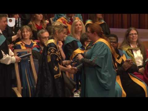 OU degree ceremony, Barbican Centre, London, Friday 24th March, 3pm