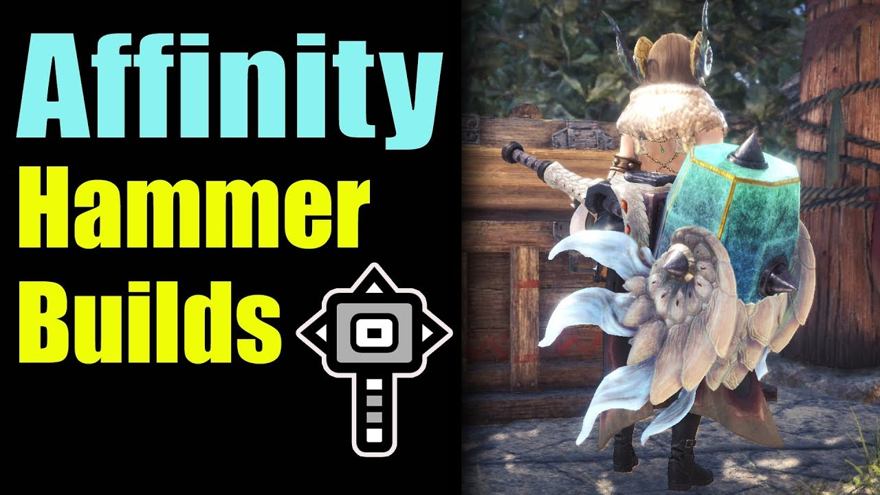 MHW: Hammer Affinity (Critical) Builds | DPS Mixed set | Empress Mace Styx  Worth It? | Review