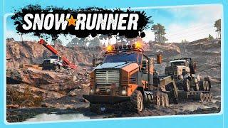 SNOWRUNNER - Um Concorrente Para Euro Truck Simulator!? | Gameplay em Português PT-BR