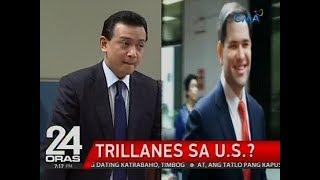 Sen. Trillanes, nakipagpulong kay U.S. Sen. Rubio na tutol din sa war on drugs, ayon sa Malacañang