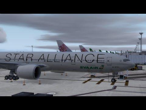 P3D | PMDG Boeing 777-300ER | EVA Air BR67 Taipei to Heathrow via Bangkok  模擬飛行 長榮航空 台北-倫敦經由曼谷