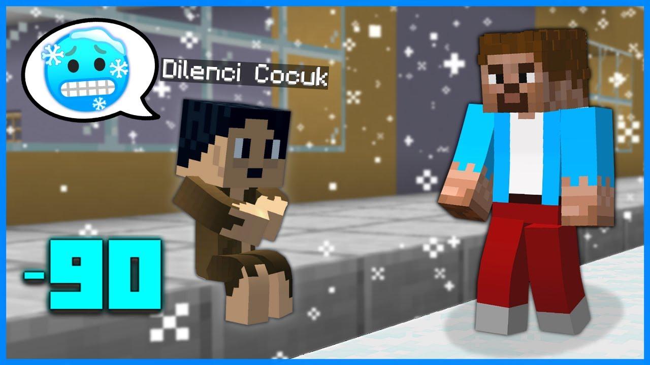 FAKİR, DİLENCİ ÇOCUĞU EVLAT EDİNDİ! 😱 - Minecraft