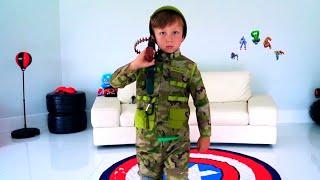 سينيا ومهنته العسكرية. قصص للاطفال