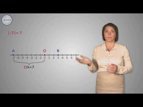 Математика 6 класс модуль числа видеоурок 6 класс