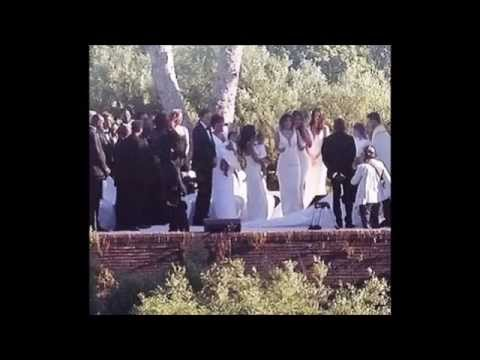 KIM KARDASHIAN & KANYE WEST WEDDING PICS (5/24/14)