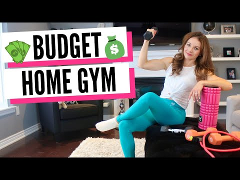 How To Set Up Budget Home Gym In Living Room (DISCREET GYM)