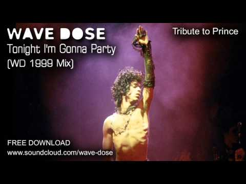 Wave Dose - Tonight I'm Gonna Party (WD 1999 Remix) -- [Prince Tribute]