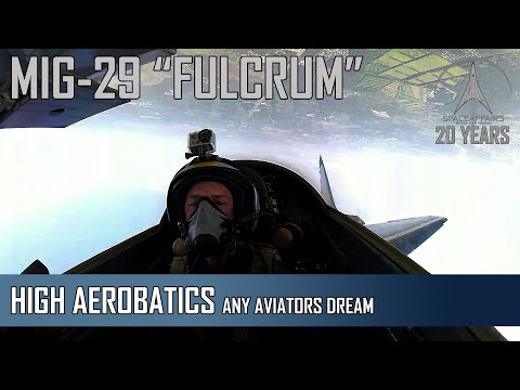 MIG-29 Fulcrum - From The Pilots Seat: Any Aviators Dream!