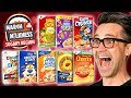 March Milkness Taste Test: Sugary Cereals