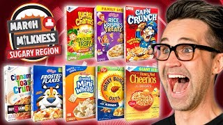 Download March Milkness Taste Test: Sugary Cereals Mp3 and Videos