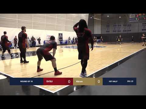 Saginaw Valley State vs. Akron - 2019 College Dodgeball Nationals