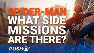 Marvel's Spider-Man PS4: What Side-Missions Are There to Do? | PlayStation 4 | PS4 Pro Gameplay