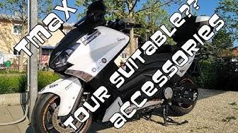 Which T-Max touring accessories do I use ? | Welches Touring-Zubehör nehme ich für meinen T-Max ?