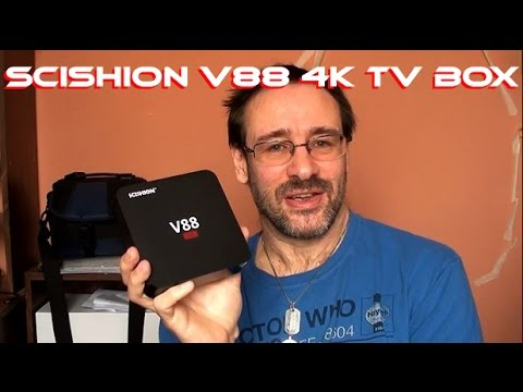 Scishion V88 4k Android TV Box - System Review