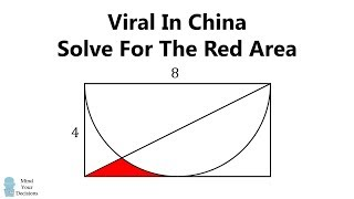 How To Solve This Viral Math Problem From China