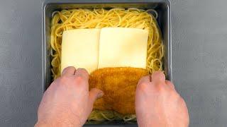 Начинка из куриных отбивных и сыра делает этот пирог идеальным