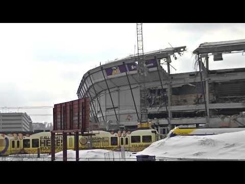Bye Bye Mall Of America Field Demolition