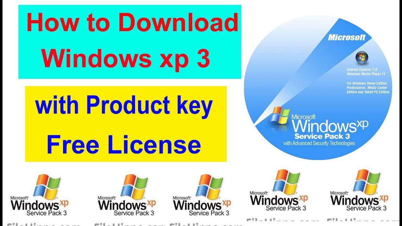 microsoft xp service pack 3 download free