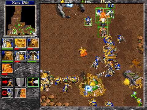 Warcraft II: Beyond the Dark Portal speed run Humans 12
