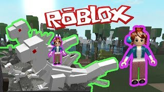 DINO TYCOON ROBLOX - DINOSAUR GAMES FOR CHILDREN - ALBINO T-REX FAMILY