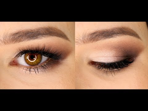 Как красиво накрасить тенями глаза