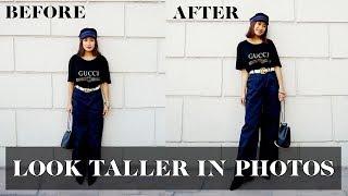 How to Look Taller in Photos | Laureen Uy