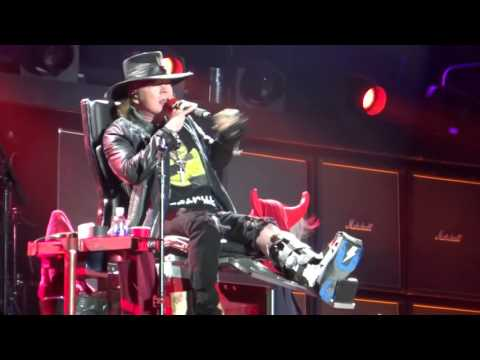 Got Some Rock & Roll Thunder – AC/DC & Axl Rose, Lisbon, Portugal 7/5/16