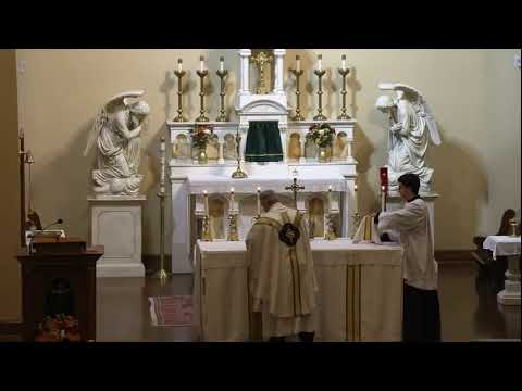 Holy Hour and Mass for Dr. Brendan McGuire