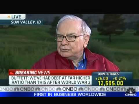Warren Buffett on US Government Debt