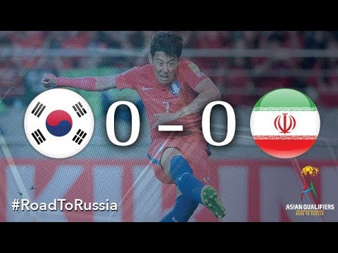 Korea Republic vs Iran (2018 FIFA World Cup Qualifiers)