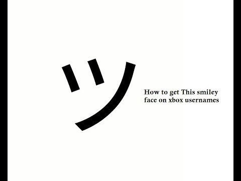 """How To Put The """"Slanted Smiley Face In Your Xbox Username"""