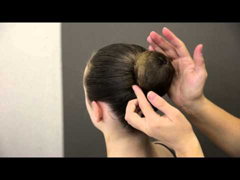 Premier School of Dance: How to do a simple ballet bun