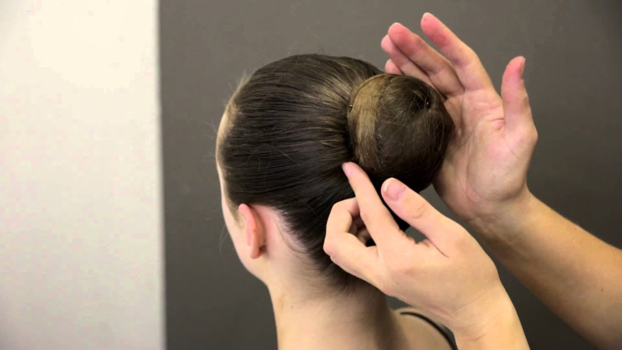 premier school of dance how to do a simple ballet bun youtube