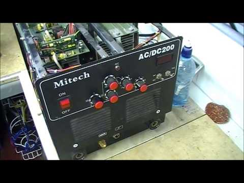 Mitech AC DC 200 welder repair