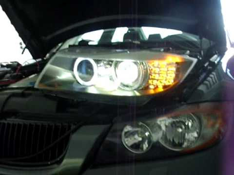 E90 Andy E90 E91 Pre Lci To Lci Bi Xenon Conversion Youtube