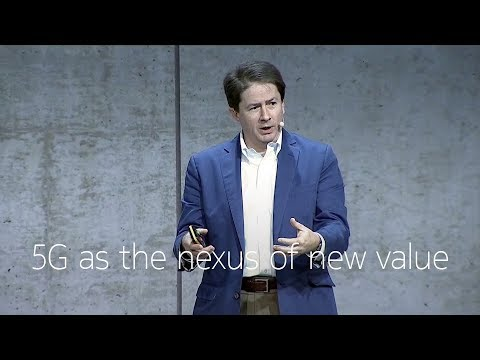 New value creation in the 5G era – Marcus Weldon
