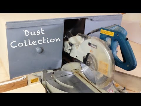 Best Miter Saw Dust Collection Hood | Woodworking Tips