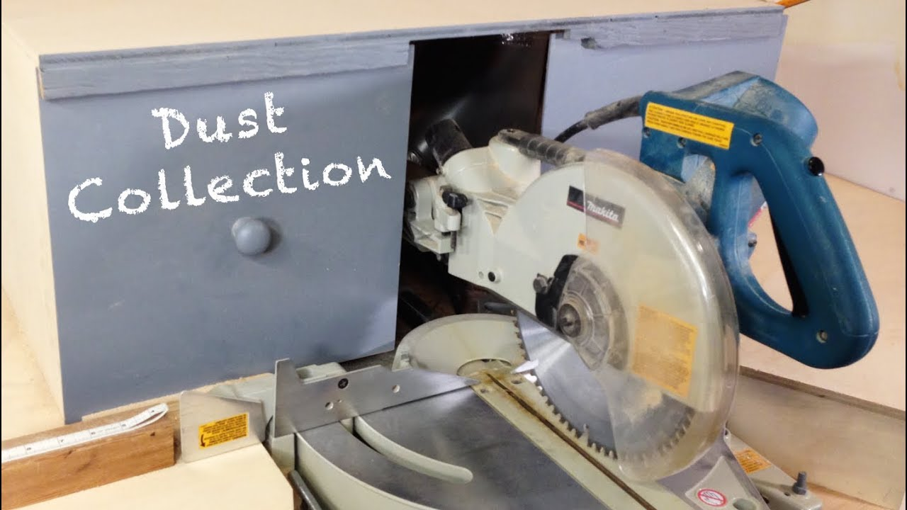 Best Miter Saw Dust Collection Hood Youtube