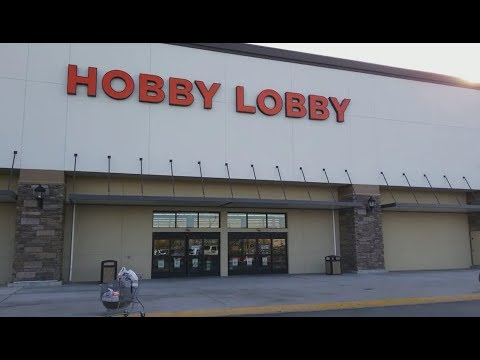 Hobby Lobby 75% Craft Clearance-Part 1 & Etsy Update