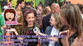 Meyrick Murphy and Megan Richie - Nickelodeon Kids' Choice Sports Awards