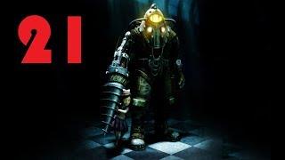 Прохождение BioShock 2 ч.21: Логово Минервы 3 Первый уровень пройден (1080р)