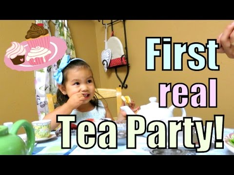 JB'S FIRST REAL TEA PARTY! - May 03, 2016 -  ItsJudysLife Vlogs