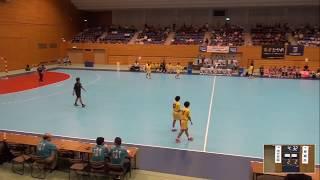 2019年IH ハンドボール 女子 準決勝 明光(福岡)VS 那覇西(沖縄)