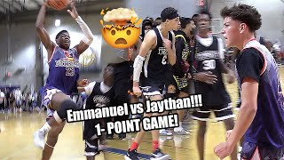 Jaythan Bosch vs Emmanuel Maldonado COMES DOWN TO A 1 POINT GAME!!! INSANE ENDING!