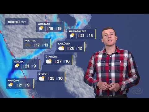 MetService Te Reo Māori Forecast For The Weekend